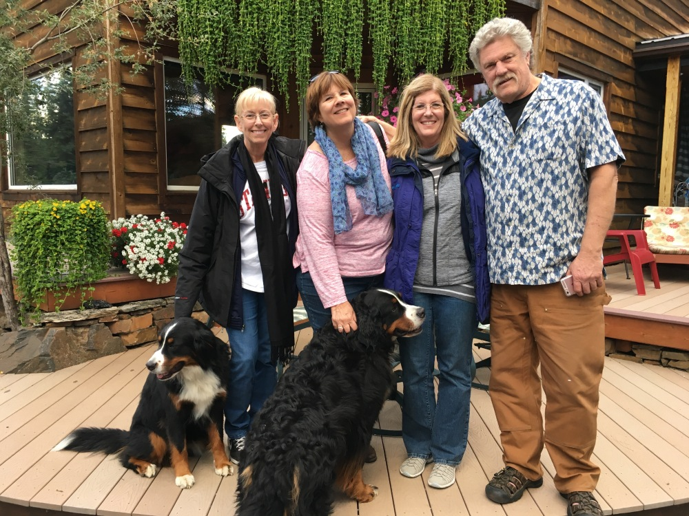 Joann Stelhey and friends