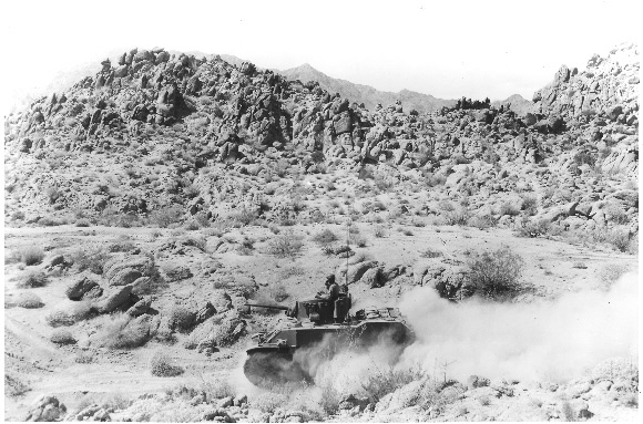 Tank Training Near Camp Young