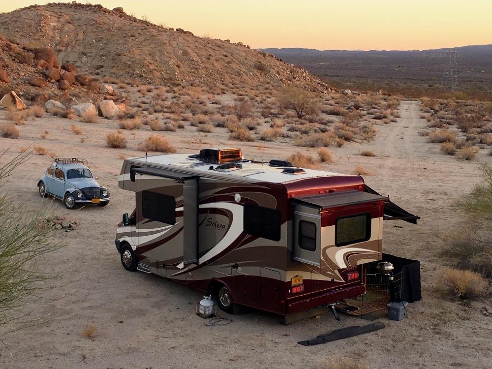 Camped Near Chiriaco Summit