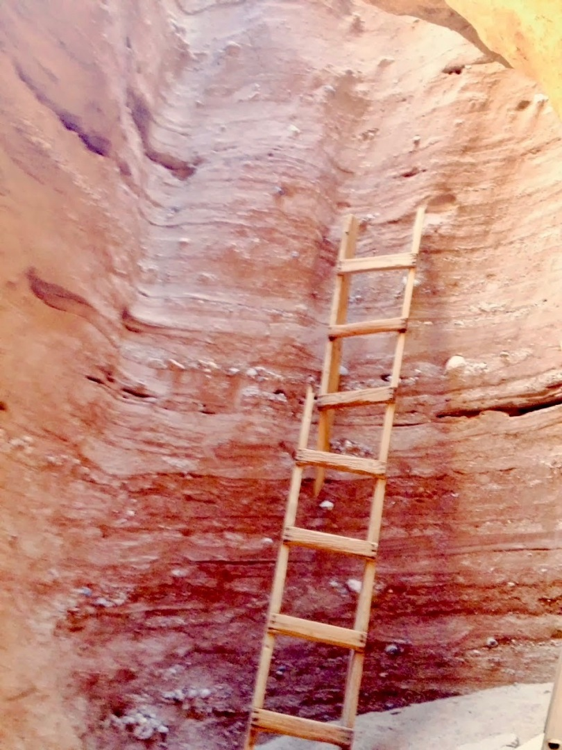 Old 1980's Ladder in Painted Canyon