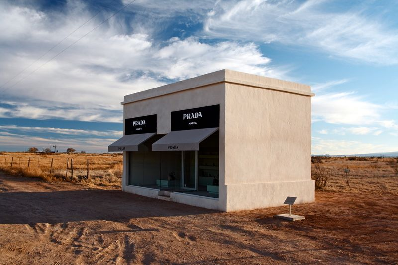 The Prada Shop West Of Marfa